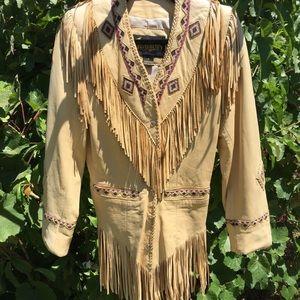 Gorgeous leather western jacket